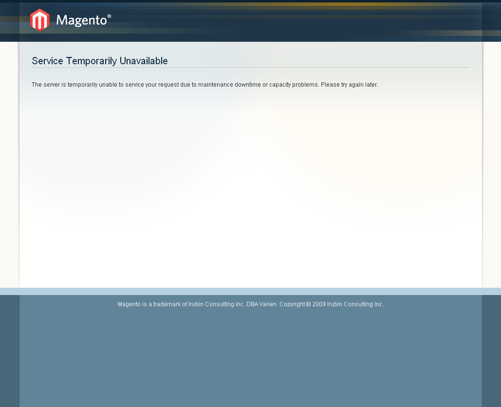 Put magento on maintenance mode and it open only on your ip